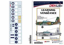 1/72 Decals Vultee Vengeance Trainers - 'Learning of Vengeance' - DEKL's II