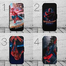 Spiderman Printed Faux Leather Flip Phone Case Cover Wallet