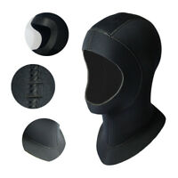 5MM Neoprene Swim Swimming Diving Scuba Surfing Snorkeling Hat Neck Head Mask