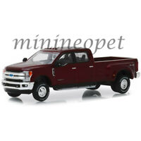 GREENLIGHT 46010 D DUALLY 2019 FORD F-350 LARIAT KING RANCH 1/64 RUBY RED