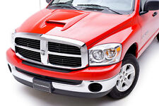 Fits 02-08 Dodge Ram 3dCarbon Urethane SRT10 Style Ram Air Hood Scoop NEW 691321
