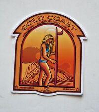"""Goldcoast Surfer Surfing Surf Stickers Decals 3""""x 3"""" Epic Surf Breaks Australia"""