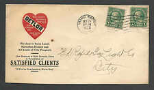 DATED 1923 GRAND RAPIDS MI DETLOR DEALS IN FARMLAND HOMES RENTALS & INSURANCE