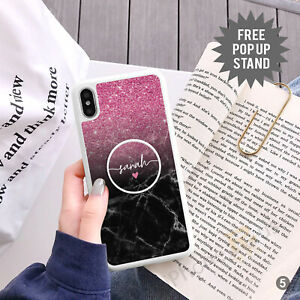 Personalised Phone Case Cover And Text Holder Stand For Apple Samsung 152-5