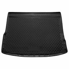 Volkswagen Tiguan 16-18 Rubber Boot Liner Tailored Fitted Black Mat Protector VW