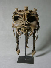 Important African Grasslands Bamileke Mask Cameroon Ex Whisnant Col Exhibited