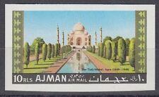 Ajman 1967 ** Mi.180 B Tadsch Tadj Mahal Grabmal Tomb