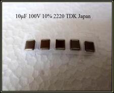 TDK SMD Keramik  Kondensator Ceramic Capacitor 10µF 100V 10% 5 Stück