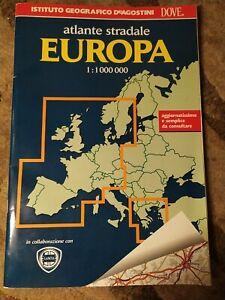 Libro - ATLANTE STRADALE EUROPA 1:1000000 (ISTITUTO GEOGRAFICO DE AGOSTINI)
