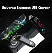 Bluetooth Car Kit LCD Cigarette Lighter MP3 FM Transmitter Handsfree USB Charger