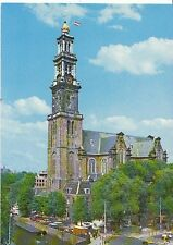 Netherlands Postcard - Amsterdam/Holland - Western Tower   AB1198