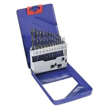 Westward 13 Piece jobber drill bit set high speed steel black oxide 1/16 to 1/4