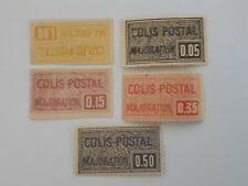 Timbre France Colis Postaux Lot n°27 - 24 - 21 20 - 15  Côte 75€   TTB