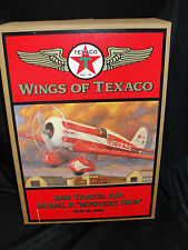 """WINGS OF TEXACO - 1930 TRAVEL AIR MODEL R """"MYSTERY SHIP"""" - 5TH IN THE SERIES"""