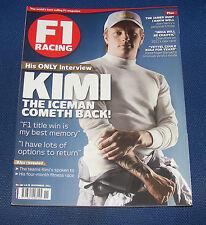 F1 RACING NOVEMBER 2011 - KIMI THE ICEMAN COMETH BACK!