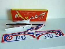 AIR MOFP LE LOOPING AVION D'APPARTEMENT A ELASTIQUE - BOITE ET NOTICE -VINTAGE