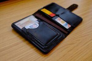 Brieftasche Dokumente Inhaber Führerschein Echtes Leder Kreditkarte