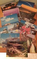 9 Colorful Postcards from Japan - 1997 - Unposted - Osaka Castle, etc.