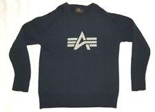 Alpha Industries - Navy-blue sweater - Dunkelblauer Pullover - Size Größe: M