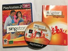PS3 PLAYSTATION 3 GAME SINGSTAR BOLLYWOOD +BOX INSTRUCTION COMPLETE DISC VGC PAL
