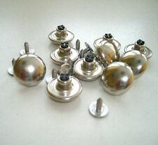 10 Stück Jeansknöpfe Nietknöpfe Knopf in silber 17 mm rostfrei