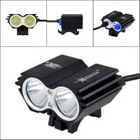 Road Bike Front Light Bicycle LED Lamp Headlight 8000LM Bright for Night Riding