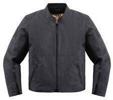 ICON 1000 AKROMONT Textile Motorcycle Jacket (Black) L (Large)