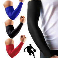 Compression Elbow Support Thigh Arm Sleeve Brace Anti Sun UV for Basketball CRF
