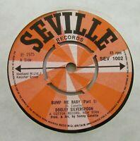 "DOOLEY SILVERSPOON Bump Me Baby 1975 UK 7"" VINYL SINGLE NM SOUL FUNK DISCO"