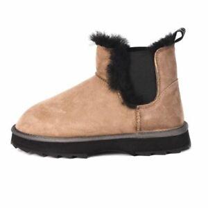 EMU AUSTRALIA Boots Light Brown Sheepskin Size 36 / UK 3 / US 5 GS 160