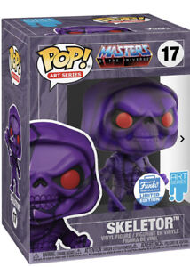 Funko pop masters of the universe Skeletor 17 Art Series Sealed With Hard Stack