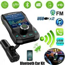 Bluetooth FM Transmitter MP3 Player Auto Dual USB KFZ SD AUX Freisprechanlage DE