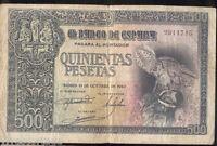 500 pesetas 21 Octubre 1940 Entierro del Conde Orgaz @@ Bello @@