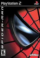 Spider-Man Sony PlayStation 2 video game Greatest Hits edition by Activision PS2