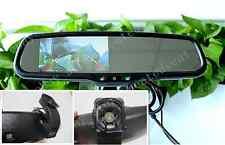 """Rear view mirror+4.3"""" LCD display,fits Hyundai,Kia.Tucson,Elantra,sportage,etc"""
