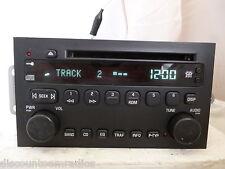 04-05 Buick Century 03-06 Rendezvous Radio Cd Player 10352075 OEM  Bulk 1018