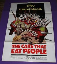 THE THE CARS THAT EAT PEOPLE ORIG 1 SH MOVIE POSTER THE CARS THAT ATE PARIS