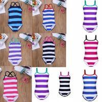 Kids Girls Kids One Piece Bikini Swimwear Swimsuit Bathing Suit Bathers Swimmer