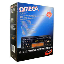 Omega 12092 Radio Data System P.L.L. Stereo Auto Reverse Car Cassette Player