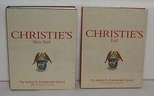 Christie's Helmut N. Freidlaender Library Auction Catalogs Part 1 + 2  #62