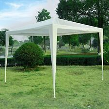 Outsunny 2.7m x 2.7m Garden Heavy Duty Gazebo Marquee Party Tent Wedding Canopy