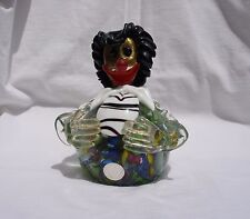 Murano Art Glass Clown Paperweight