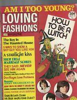 Loving Fashions Magazine October 1972 16 Donny Osmond David Cassidy