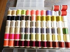 Danville Flymaster Waxed Thread Fly Tying - 74 Spools- Assorted colors - Nos