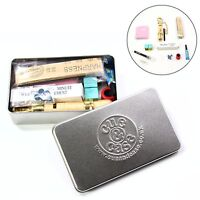 Cue & Case Ultimate Pool Snooker Cue Tipping Kit Gift Tin – Elk Master 8.5mm