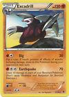Excadrill Rare Pokemon Card BW2 Emerging Powers 57/98