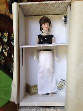 "Franklin Mint Doll Jackie Jacqueline Kennedy Porcelain 16"" New!"