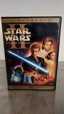 Star Wars Episode II: Attack of the Clones (DVD, 2002, 2-Disc Set, Widescreen S…