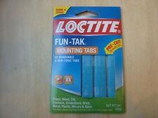 Loctite Fun Tak Mounting Tabs, 2 oz., 80 removable pre-cut non toxic tags Henkel