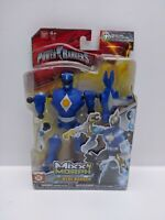 Power Rangers Mixx N Morph Mighty Morphin Blue Ranger - (Damage Pack) - New